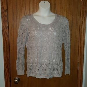 Maurices - Studio Y - Silver Knit Sweater